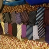 Quantity of mens silk ties