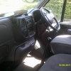 transit panal van ready for work
