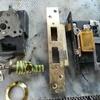 4 door locks old but good working