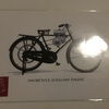 Honda 1946 bicycle engine post card