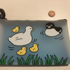 Brand New Cute Penguin Pouch Japan