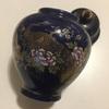 Kutani Blue Ceramic Ginger  Jar