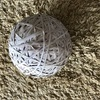 Giant elastic band ball