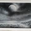 Moonlight on the Scottish Highlands