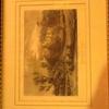 LITHOGRAPH OF HADDON HALL