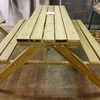 6FT Garden picnic table and bench