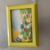 6x4 hand painted photo frame