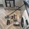 Equinox 600 metal detector setup