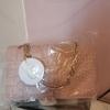Avon pink snakeskin shoulder bag
