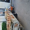Twin axle ifor williams trailer