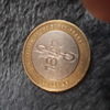 £2 coin with print error 1807
