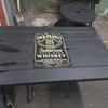 Bespoke jack daniels table