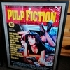 Framed movie posters