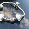 Genuine Pandora braclet + 5 charms