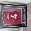 Signed van dijk football shirt