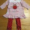 Girls set age 6/12 months