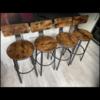 4 x bar kitchen stools