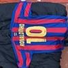 Barcelona football shirts icons
