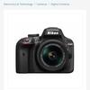 NikonD3400 DSLR + Lens