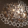 Old coins and tokens