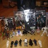 action figures,sci fi related toys etc