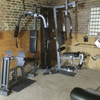 Home multi gym and punch bags